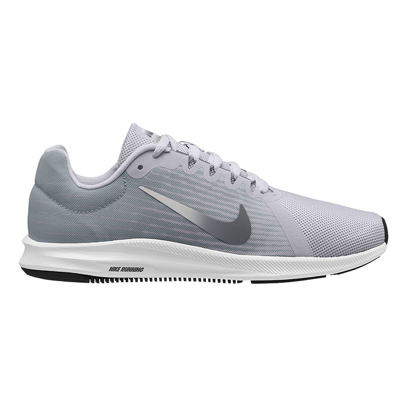 low cost ee0ad a5e64 Zapatillas Nike Downshifter 8 gris claro blanco mujer