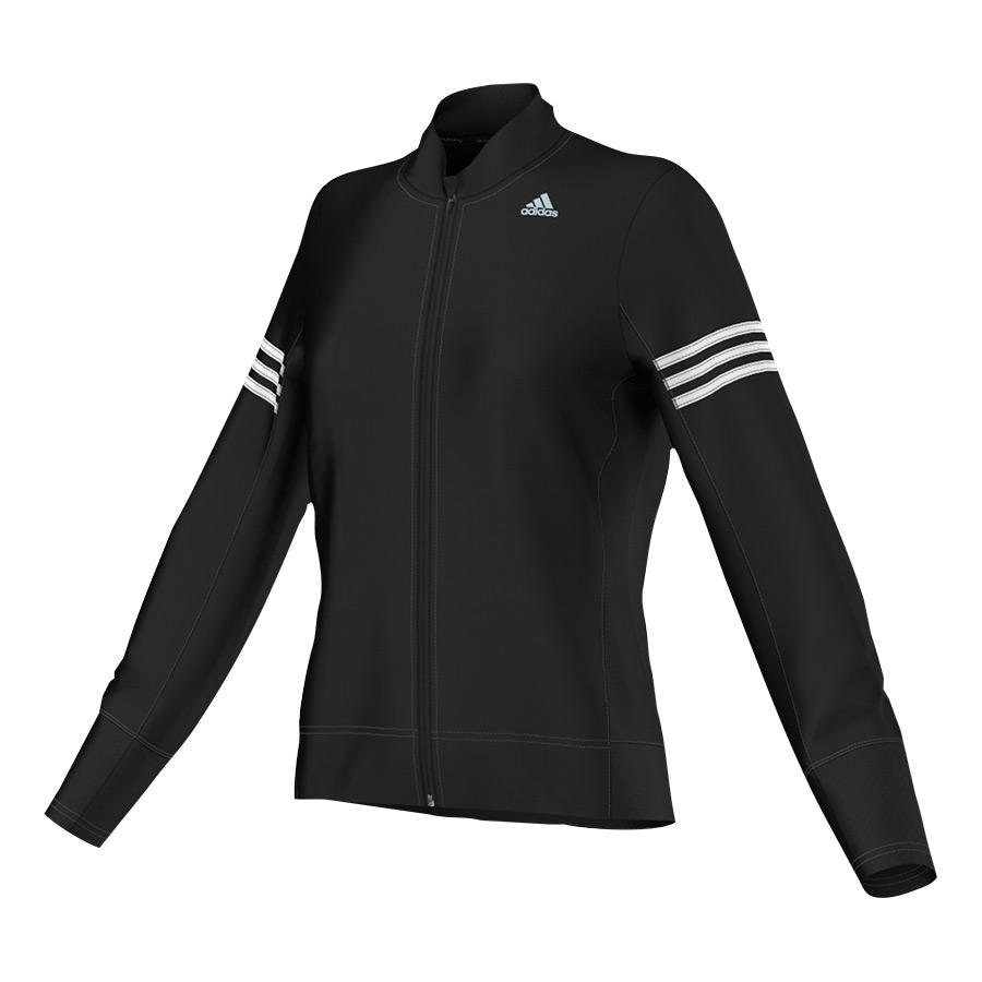 chaqueta adidas mujer negra y blanca