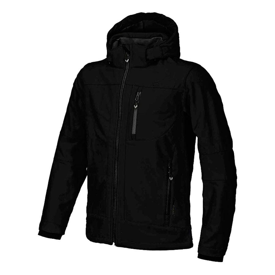 Veste-CMP-Softshell-Zip-Hood-noir-DV