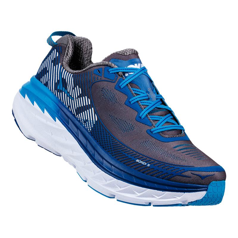 Zapatillas Hoka One One Bondi 5 gris azul