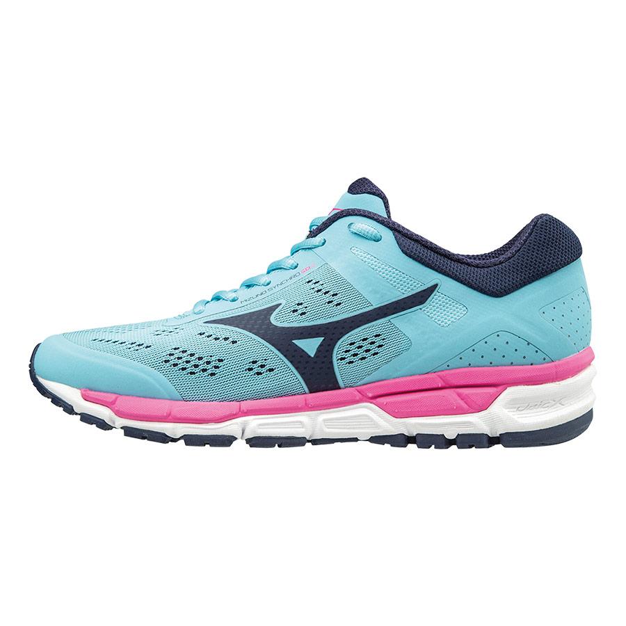 MizunoSynchro MX - Zapatillas de Running Mujer, Color Rosa, Talla 39 (6 UK)