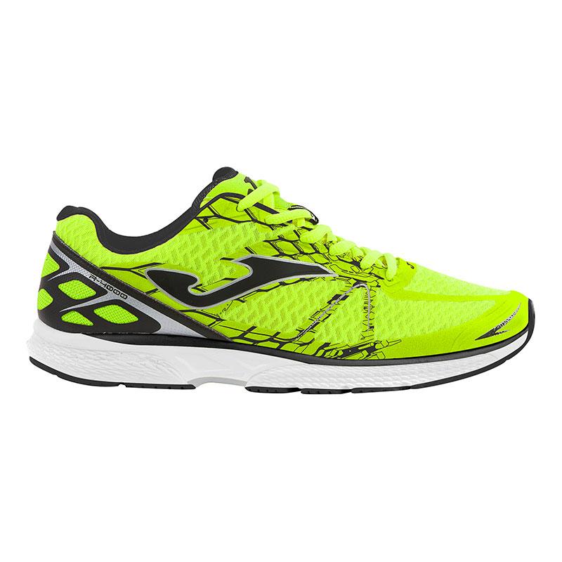 Zapatillas Joma Marathon amarillo fluor negro