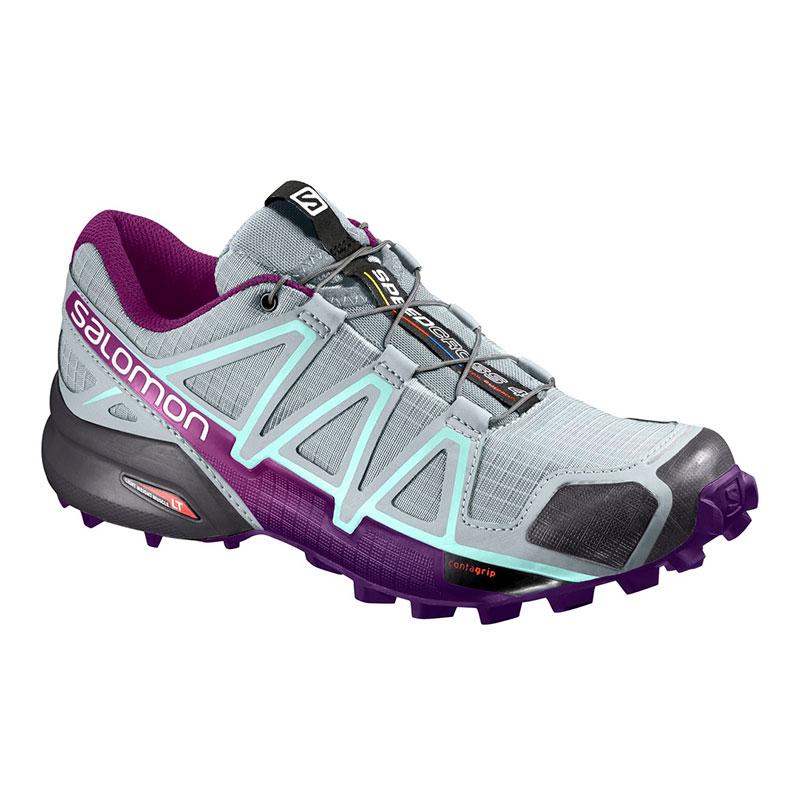 ea970c8dc1ec ... discount zapatillas salomon speedcross 4 gris lila azul mujer 6c0e3  8a523