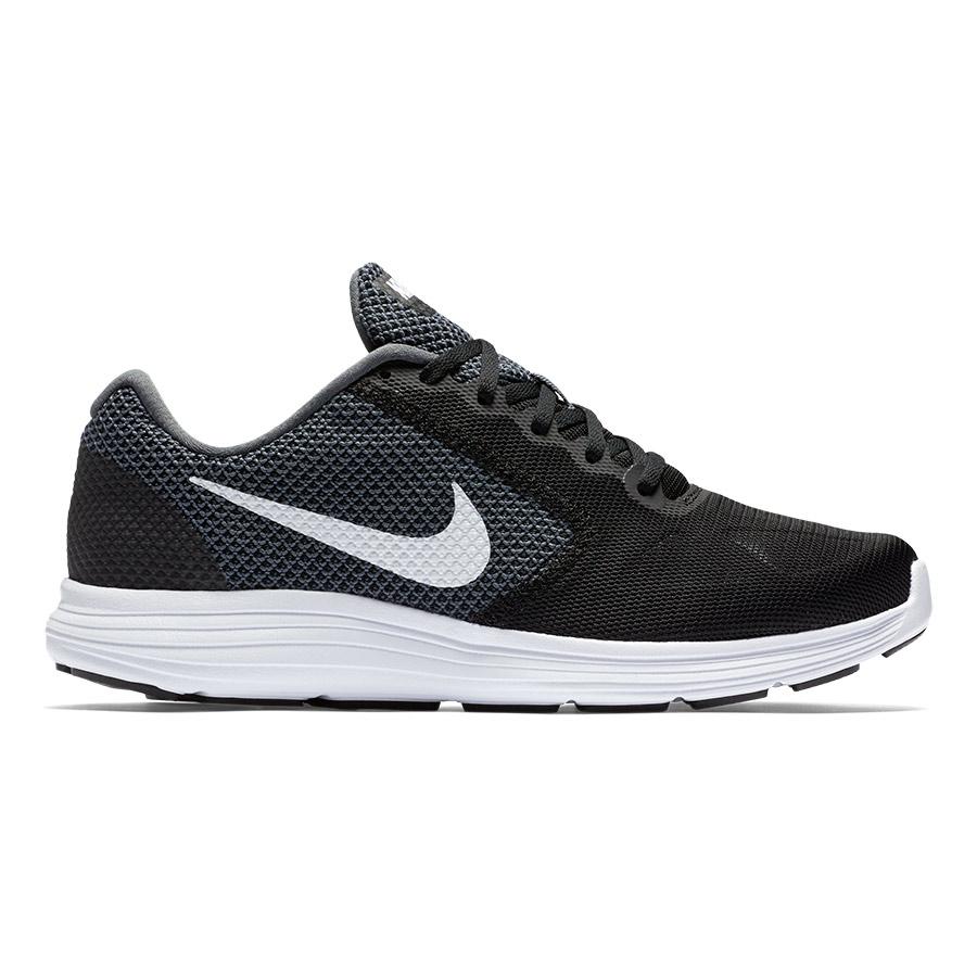 Zapatillas Nike Revolution 3 negro blanco