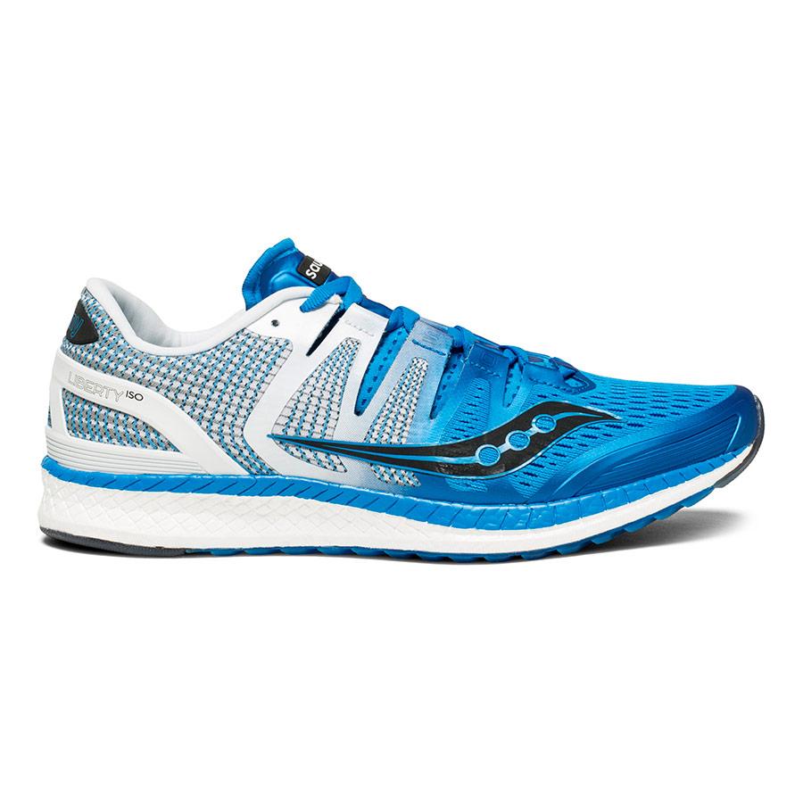 Zapatillas Saucony Liberty ISO azul blanco