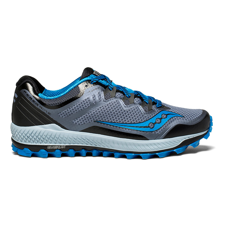 Zapatillas Saucony Peregrine 8 negro gris azul