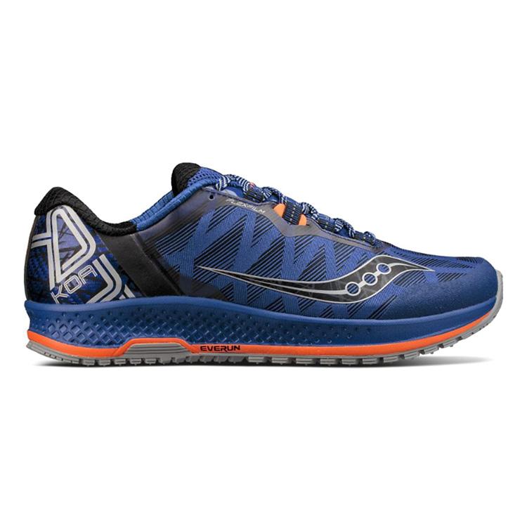 Zapatillas Saucony Koa TR azul naranja