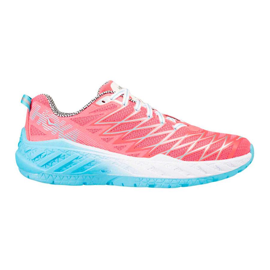 Zapatillas Hoka One One Clayton 2 rosa azul mujer