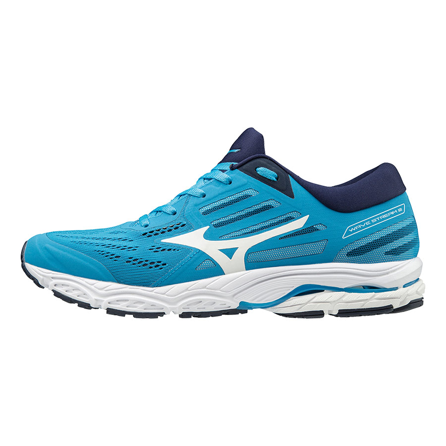 Zapatillas Mizuno Wave Stream 2 azul blanco
