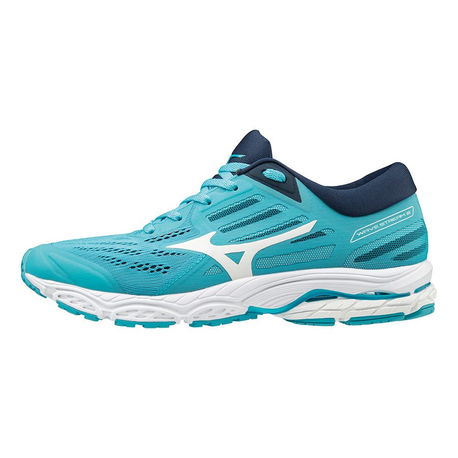 Zapatillas Mizuno Wave Stream 2 azul blanco mujer