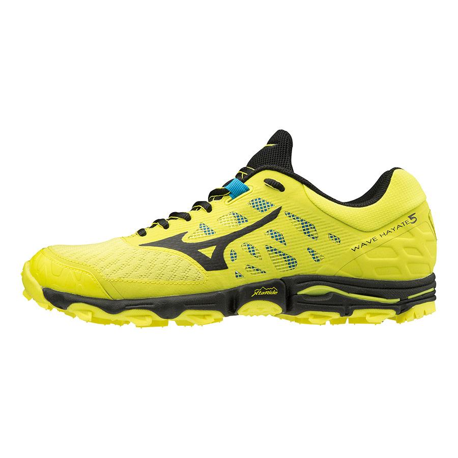 Zapatillas Mizuno Wave Hayate 5 amarillo negro
