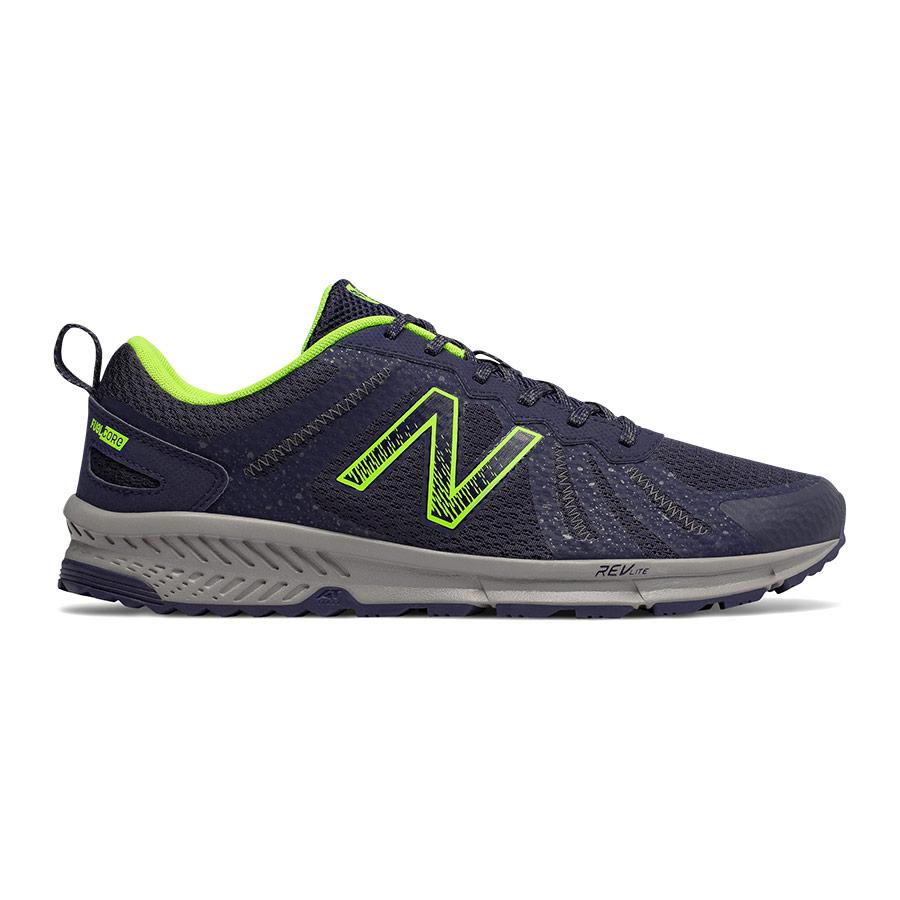 Zapatillas New Balance 590 v4 azul oscuro verde lima