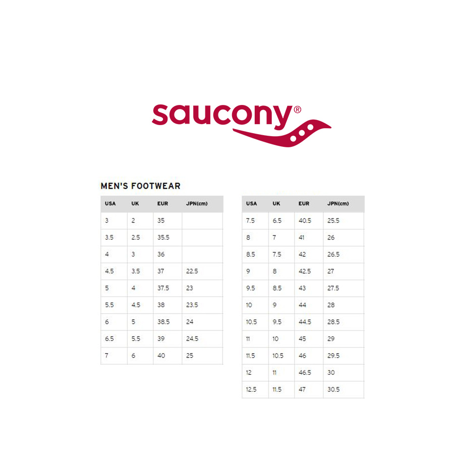 tabella misure scarpe saucony 53% di sconto agriz.it