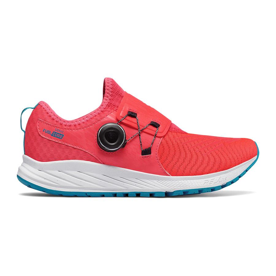 Zapatillas New Balance Fuel Core Sonic V1 rojo blanco mujer