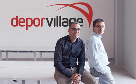 Xavier Pladellorens e Àngel Corcuera, i fondatori di Deporvillage